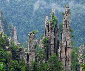 天子山自然保護区